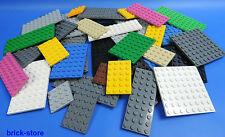 LEGO Piastre costruzione / Piastra 4x4 fino a 6x12 diversi colori / 25 Pezzo