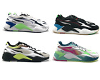 Puma RS-X3 Mens Size 9 - 13 Casual Running Shoe White Black Gym Trainer Sneaker
