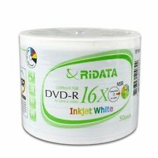 Ritek Ridata DVD-R 16X  Printable Blank media DVD Disc
