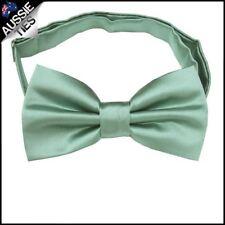 Sage Green Plain Bow Tie Men's bowtie mens
