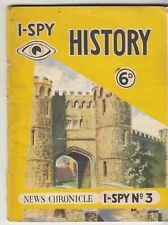 I SPY BOOK -  HISTORY No 3   1955