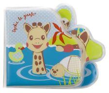 SOPHIE THE GIRAFFE BATH BOOK Baby Toy BN