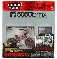 FitBikeCo Flick Trix 5050bmx Finger Bike Service Store Display Case Set