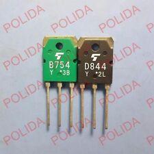 1pairs OR 2PCS Transistor TOSHIBA TO-3P 2SB754/2SD844 B754/D844
