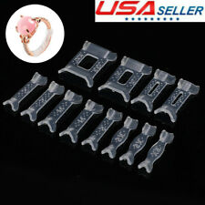 12pcs Invisible Multi Size Ring Guard Adjuster Snuggies Sizer Fitter Resizer US