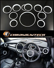 MINI Cooper/S/ONE F55 F56 F57 WHITE Interior Rings for models W/O Navigation XL