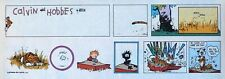 Calvin and Hobbes by Watterson - color Sunday comic page - VFn - July 24, 1988
