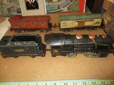 Lionel O Scale 259 4 unit scruffy set to restore, no original boxes