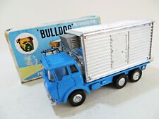 MARX TOYS 'BULLDOG REFRIGERATED TRUCK' WORKING LIGHTS. SUPERB/BOXED. VINTAGE.
