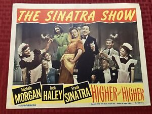 The Sinatra Show Higher And Higher 1943 Original Lobby Card 11x14