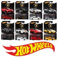 HOT WHEELS LAMBORGHINI DIECAST SCALE 1:64 CAR CHOOSE YOUR VEHICLE ASST. DWF21