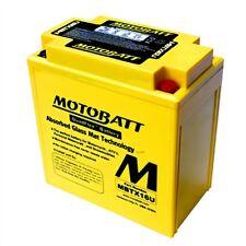 Motobatt AGM Battery Kawasaki Vn1700 Cruiser All 2009-2012 MBTX16U