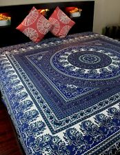 Cotton Paisley Floral Mandala Tapestry Wall Hanging Tablecloth Bedspread 87x90