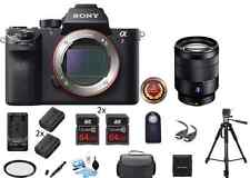 Sony Alpha a7R II Mirrorless Digital Camera w/ 24-70mm F/4 Pro Bundle Package