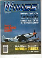 Wings Airplane Magazine Feb 2001 Boeing  Curtiss Luftwaffe 357th Fighter Group