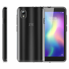 For ZTE Avid 579 Z5156CC TPU Clear Cover Case & 2*Screen Protector Film