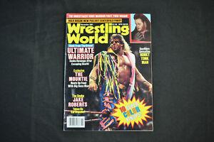 WRESTLING WORLD MAGAZINE - NOVEMBER 1991 - ULTIMATE WARRIOR COVER! (F-VF)