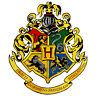 Harry Potter Hogwarts School Crest Wizard Bumper Sticker or Fridge Magnet