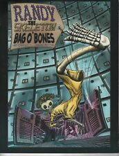 Randy the Skeleton Bag O Bones TP Unread first printing Ian Carney Aidan Potts