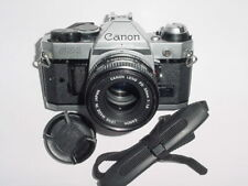 Canon AE-1 Program 35mm SLR Film Manual Camera + 50mm F1.8 FD Lens - Ex+  #23