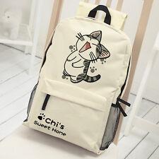 Chi's Sweet Home Cute Cat Backpack Shoulder Bag Portable Bag