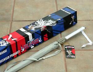 """BLEACH Shonen Jump Japanese Anime KENPACHI ZARAKI Sword Handle UMBRELLA 40"""" New"""