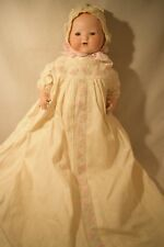 """Antique 15"""" Armand Marseille German Baby Doll with Teeth Bisque Head (618)"""