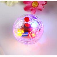 3B83 Plastic Pet Cat Kitten Light Up Flashing Ball Creative Interactive Toy Movi