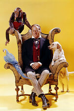 Rex Harrison As Doctor Dolittle 11x17 Mini Poster With Animals Seated In Chair