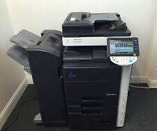 Konica Minolta Bizhub 552 B/W Copier Printer Scanner Fax Finisher LOW use 346k