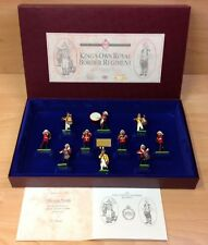 """Britains Boxed Set """"King's Own Royal Border Regiment"""" No. 5292 Metal Soldiers"""