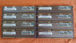 Hynix 64GB (8x8GB) 2Rx4 PC3 10600R HMT31GR7BFR4C-H9 !SERVER SPEICHER mit ECC!