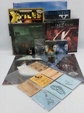 THE X-FILES : MAG, CALENDAR, PINS, CCG, MAP, SCRAPBOOK, MOUSE MAT, CARDS SET