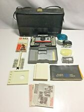 Polaroid 220 Land Camera With Flash, Battery and Carry Case, Timer & Bulbs rl