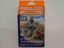 USA Gear Action Camera Mount with Zip-Tie Style Strap , Tripod Screw Free Ship