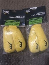 lot of 2 Everlast Everfresh Boxing Glove Deodorizers - Antimicrobial Technology