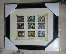 Picture the Moment Mickey Festival of Dreams Disney 9 Pin Framed Set LE VHTF