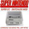 Consola Super Nintendo Snes Supercic sin Switch 50/60hz Pal / Ntsc / Jap Hot