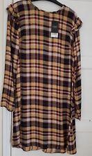 Ladies NEXT Check Ruffle Dress BNWT Size 12