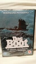 Das Boot Dvd 6 Part Mini-Series Region 2 Pal 2-Disc Set 2004 Uk imp. Brand New!