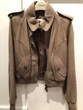Burberry Leather Jacket RRP Au $1900 Size 44/M