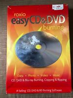Roxio Easy CD and DVD Burning and Video Capture for PC - Free Shipping - Read