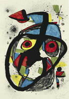 Joan Miro Carota Poster Reproduction Paintings Giclee Canvas Print