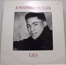 """JONATHAN BUTLER : LIES Single 12"""" Vinyl 45rpm EX"""