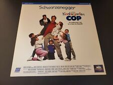 Kindergarten Cop Laserdisc LD Extended Play Edition Arnold Schwarzenegger *Mint*