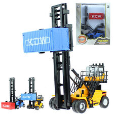 KDW 1:50 Scale Diecast Reach Stacker Truck Container Vehicle Cars Model Toys