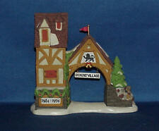 Dept 56 Dickens Village 10 Year Anniversary 1984-1994 Postern 98710 W/Box