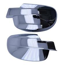 *NEW* Lund AVS Auto Ventshade Chevy GMC Chrome Mirror Covers Without Light Hole