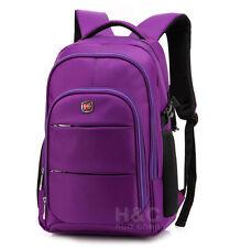 """Travel Hiking Rucksack Shoulder Swiss Notebook 15 17"""" Laptop Backpack School Bag"""