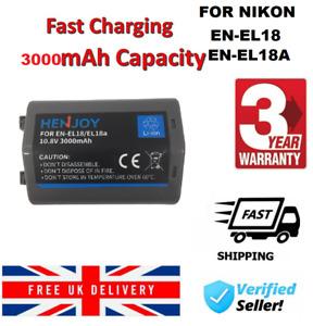 UK Battery EN-EL18 Battery for Nikon EN-EL18A D4S D4 S52 D810 D800 D5
